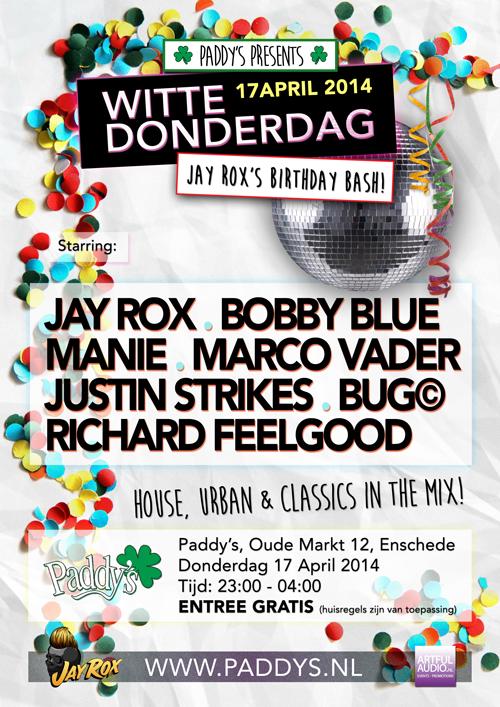 Witte Donderdag 2014
